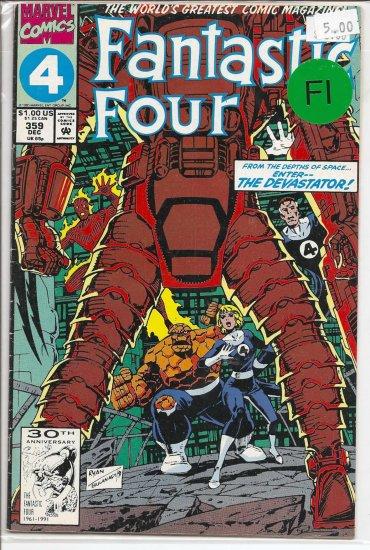 Fantastic Four # 359, 6.0 FN