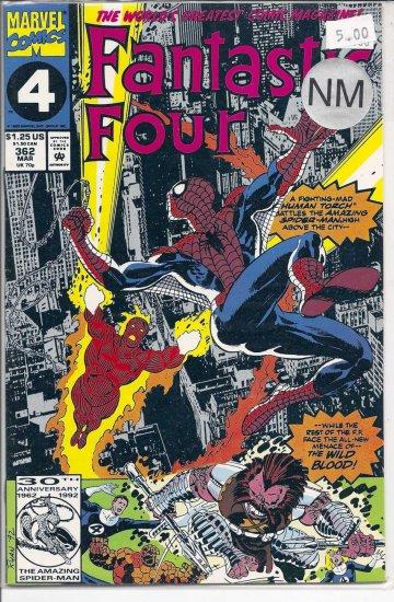 Fantastic Four # 362, 9.4 NM