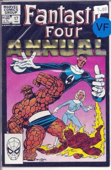 Fantastic Four Annual # 17, 8.0 VF
