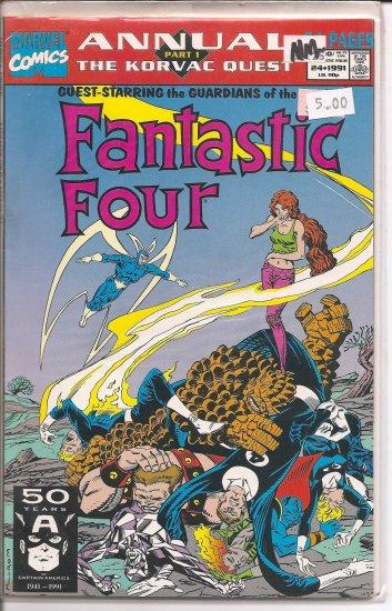 Fantastic Four Annual # 24, 9.2 NM -