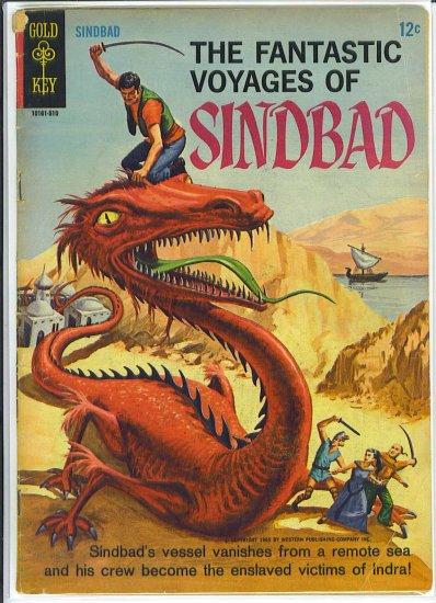 Fantastic Voyages Of Sinbad # 1, 2.5 GD +
