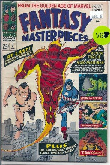 Fantasy Masterpieces # 7, 4.0 VG