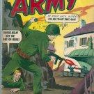 FIGHTIN' ARMY # 54, 4.0 VG