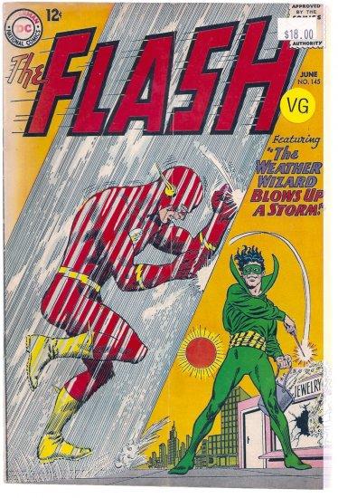 Flash # 145, 4.0 VG
