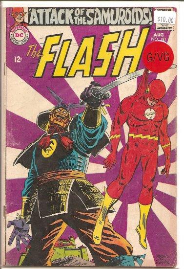 Flash # 181, 3.0 GD/VG