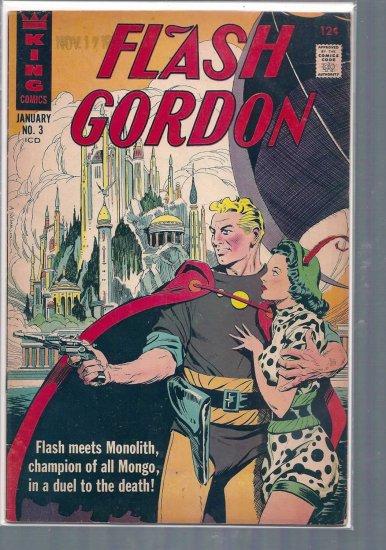 FLASH GORDON # 3, 3.5 VG -