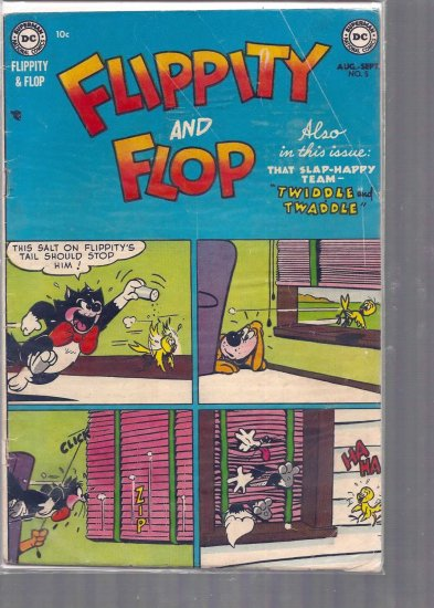 FLIPPITY AND FLOP # 5, 2.5 GD +