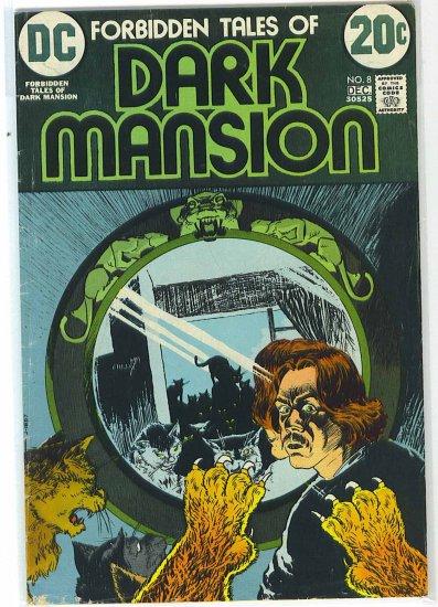 Forbidden Tales Of Dark Mansion # 8, 4.0 VG