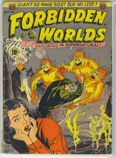 Forbidden Worlds # 2, 2.5 GD +