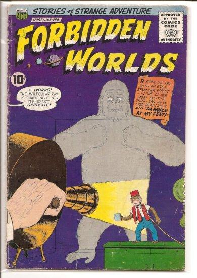 FORBIDDEN WORLDS # 85, 3.0 GD/VG