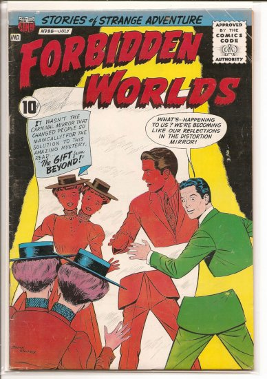 FORBIDDEN WORLDS # 88, 3.5 VG -