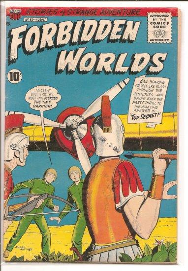 FORBIDDEN WORLDS # 89, 3.5 VG -