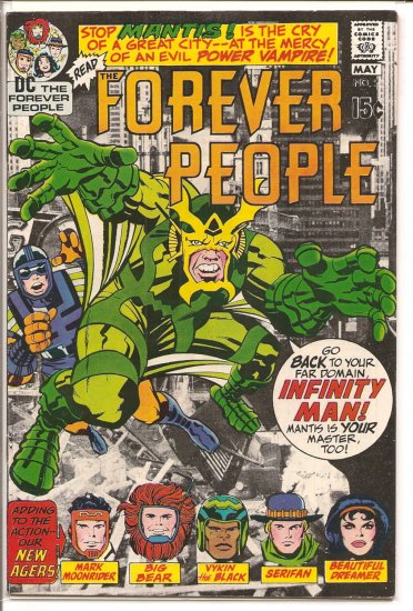 Forever People # 2, 6.5 FN +