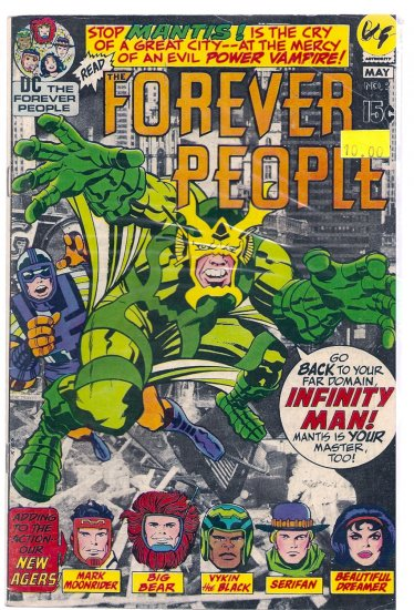 Forever People # 2, 4.0 VG