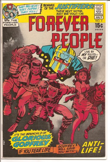 Forever People # 3, 7.5 VF -