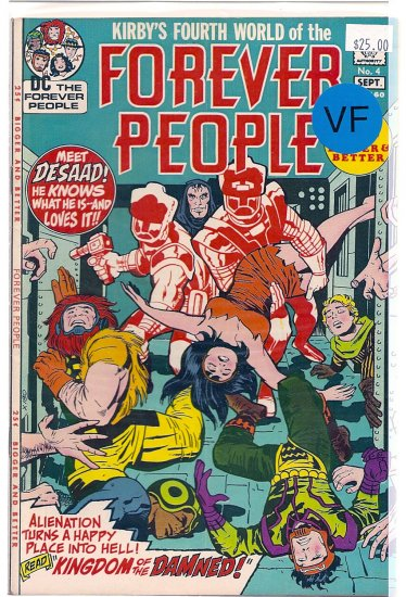 Forever People # 4, 8.0 VF