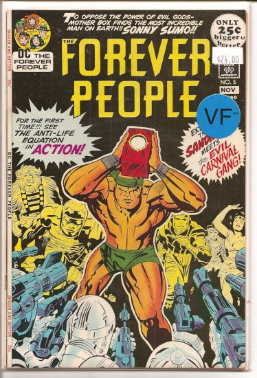 Forever People # 5, 7.5 VF -