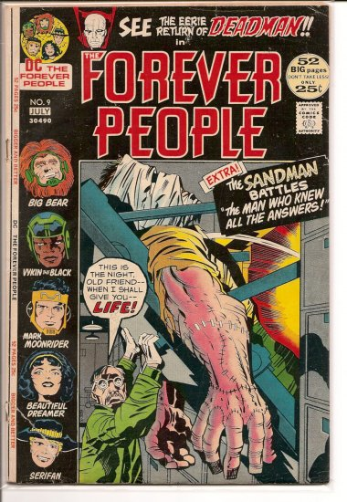 Forever People # 9, 2.5 GD +
