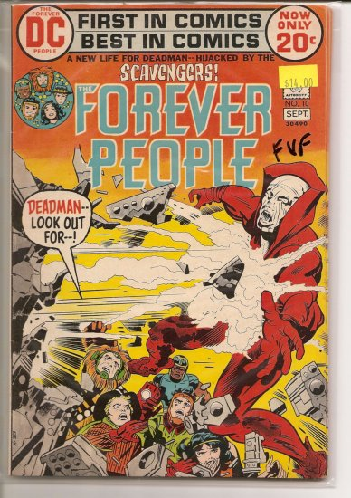 Forever People # 10, 7.0 FN/VF