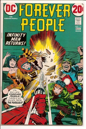 Forever People # 11, 7.5 VF -