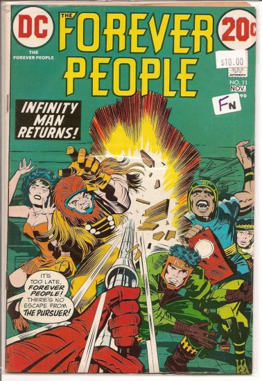 Forever People # 11, 6.0 FN