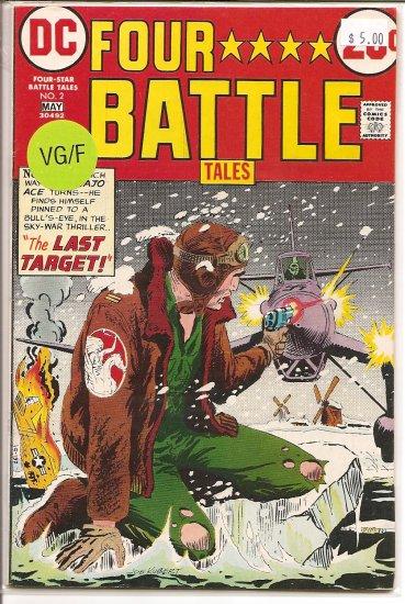 Four Star Battle Tales # 2, 5.0 VG/FN