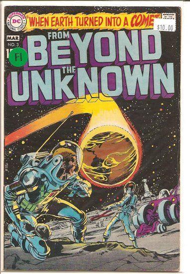 From Beyond the Unknown # 3, 6.0 FN