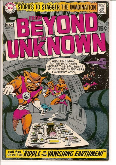 From Beyond the Unknown # 4, 4.5 VG +