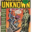 From Beyond the Unknown # 8, 7.0 FN/VF