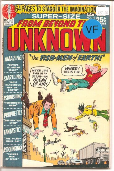 From Beyond the Unknown # 10, 8.0 VF