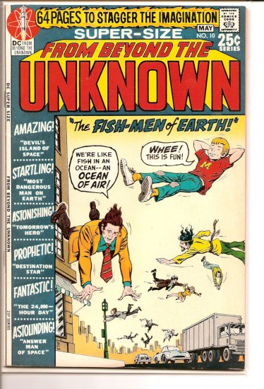From Beyond the Unknown # 10, 6.5 FN +