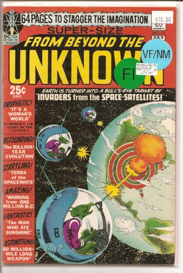 From Beyond the Unknown # 11, 6.0 FN