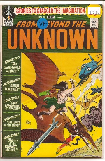 From Beyond the Unknown # 12, 7.5 VF -
