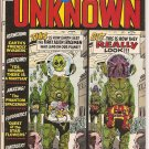 From Beyond the Unknown # 13, 7.5 VF -