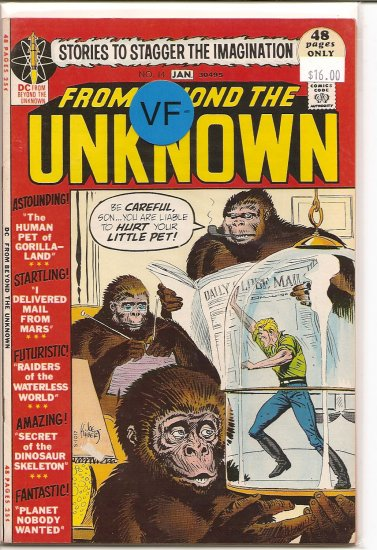 From Beyond the Unknown # 14, 7.5 VF -