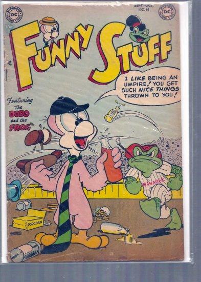FUNNY STUFF # 68, 2.5 GD +