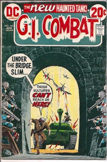 G.I. COMBAT # 160, 4.5 VG +