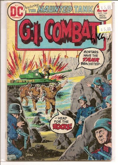 G.I. Combat # 166, 3.0 GD/VG