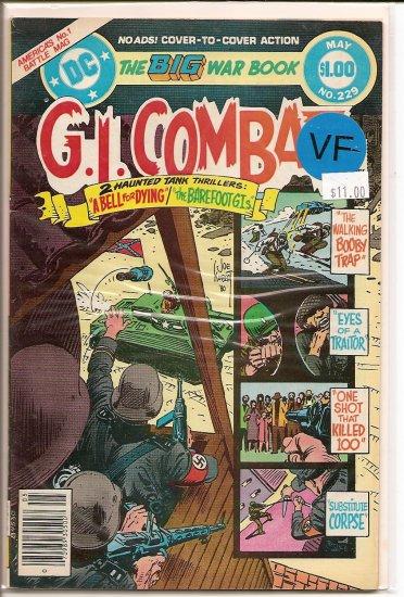 G.I. Combat # 229, 7.5 VF -