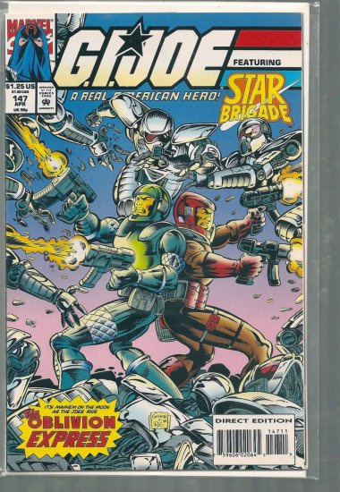 G.I. JOE A REAL AMERICAN HERO # 147, 8.0 VF