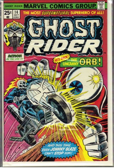GHOST RIDER # 14, 5.5 FN -