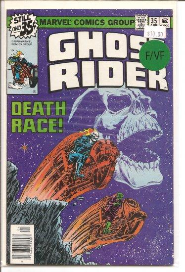 Ghost Rider # 35, 7.0 FN/VF