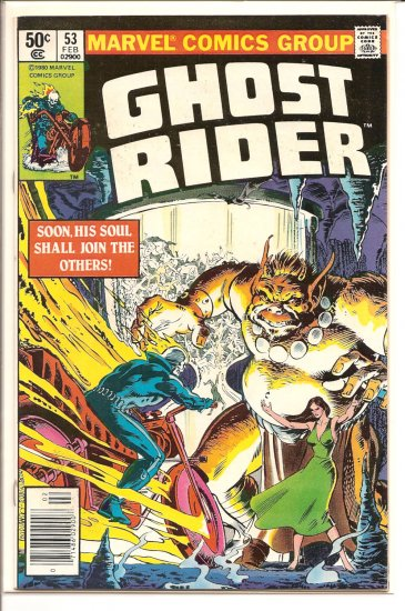 Ghost Rider # 53, 5.5 FN -