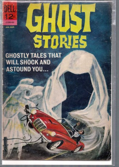 GHOST STORIES # 5, 3.0 GD/VG