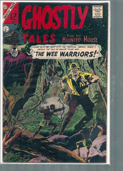 GHOSTLY TALES # 61, 4.5 VG +