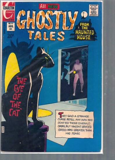 GHOSTLY TALES # 97, 4.5 VG +