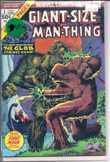 Giant-Size Man-Thing # 1, 7.5 VF -