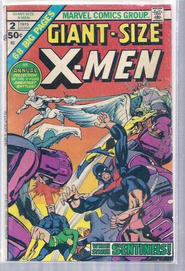 GIANT-SIZE X-MEN # 2, 4.0 VG