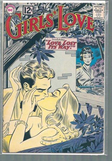GIRLS' LOVE STORIES # 91, 4.5 VG +