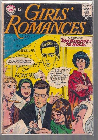 GIRLS' ROMANCE # 104, 2.0 GD